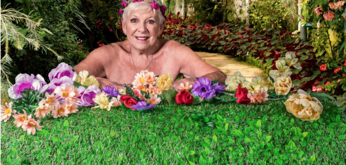 Retirement ladies put on calendar show